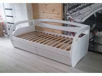 Деревянная кровать от производителя, модель Бавария (100 см* 200 см)