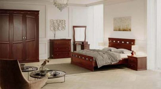 Спальня Ладья из массива дерева Genmebli