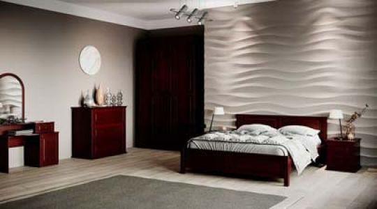 Спальня Ланита из массива дерева Genmebli