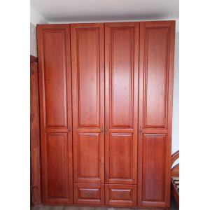 Шкаф Ланита распашной 4-х дверный из дерева (с ящиками)