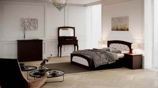Спальня Лексус і Лексус (Люкс) з масиву дерева Genmebli