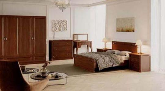 Спальня Шопен з масиву дерева Genmebli