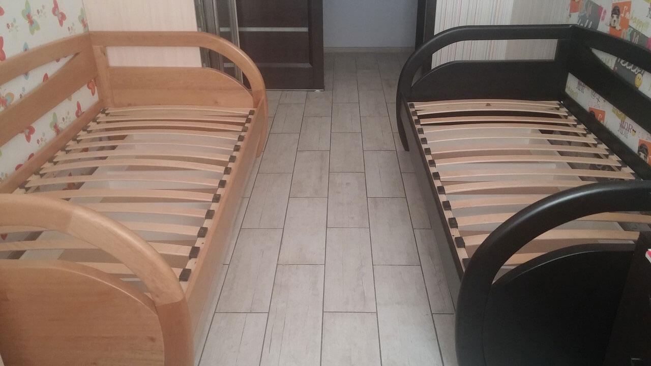 Ліжко Баварія з шухлядами (від виробника Genmebli)