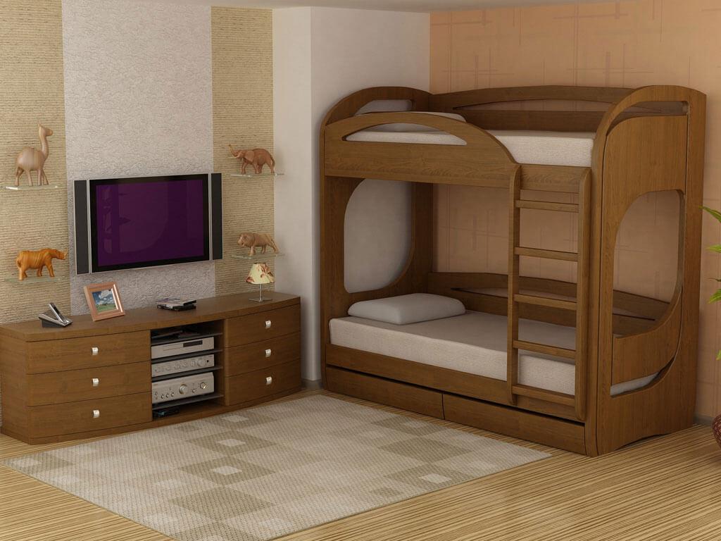 Кровать Бавария двухъярусная