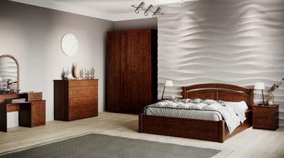 Спальня Фантазія з масиву дерева