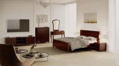 Спальний гарнітур Гармонія, масив деревени