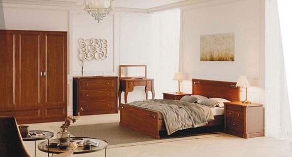 деревянная мебель в спальню от Генмебли
